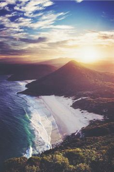 Wanderlust :: Travel the World :: Seek Adventure :: Free your Wild :: Photography & Inspiration :: See more Untamed Beach + Island + Mountain Destinations @untamedmama :: Zenith Beach, Australia. Breathtaking.