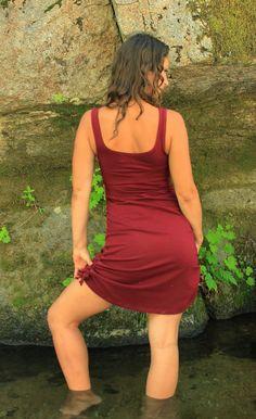 Cinchy Dress-fashion womens dresses-romantic womens dresses-midi dress-casual women's dresses-sexy summer dress-cotton red dress-aurora wear on Etsy, $65.57 AUD