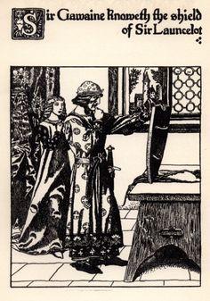 The Story of Sir Launcelot and His Companions Sir Gawaine (146)