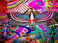 Colourful Chinese Kites