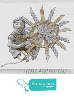 Weihnachtskarte für Bücherfans und Lesefreunde, Karte Weihnachtsstern, für Bücherliebende, literarische Karten, Umschlag aus Buchseiten von der Atelier Dorothea Koch https://www.amazon.de/dp/B01LZ6YE8R/ref=hnd_sw_r_pi_dp_DPAjybXS5BSXT #handmadeatamazon