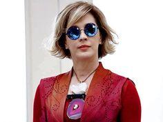 Lente redonda é a maior tendência para proteger os olhos este ano →  #redeglobo #gshow #moda #fashionrio #novelas #óculosescuro