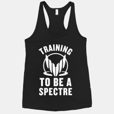Training To Be A Spectre | HUMAN | T-Shirts, Tanks, Sweatshirts and Hoodies