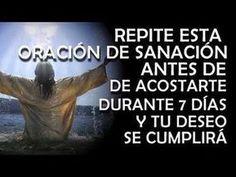LOS CIENTÍFICOS DESCUBREN QUE ESTA ORACIÓN SANA ENFERMEDADES - YouTube Spanish Prayers, Miracle Prayer, Divine Mercy, The Orator, Prayer Board, Power Of Prayer, Dear God, Daily Motivation, Real Life
