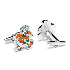 Vintage University of Miami Hurricanes Cufflinks