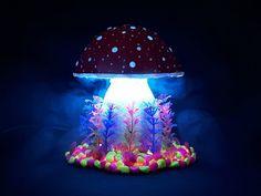Nice! Magic Mushroom Lamp by Katarina Eichlerova
