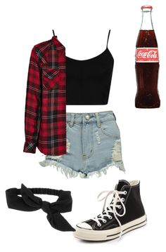 Untitled #103 by fangirlmuch on Polyvore featuring polyvore, fashion, style, Rails, Topshop, Boohoo, Converse and Target