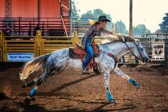 Smooth. This is when I admire barrel racers the most, when they make it look effortless. No leg-flapping for these gals, they took the time to train their horses to be better, to master the basics.