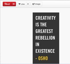 Popular pins: Subject: Creativity quotes  Repins: 55 Likes: 8 http://www.pinterest.com/pin/11751649001793382/