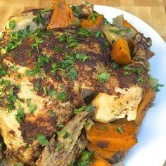 Lebanese-Spiced Chicken and Vegetables - The Lemon Bowl