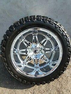 Offset Chrome Fuel Hostage Rims and Patriot MT Tires Silverado Wheels, Chevrolet Silverado, Midlife Crisis, Truck Tyres, Fast Cars, Tired, Ss, Chrome, Trucks