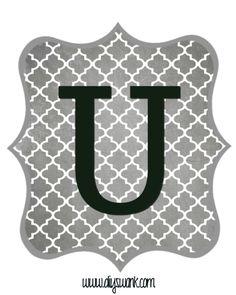 Gray_Black Letter_U
