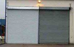 Large Double Roller Shutter with a Galvanised finish! #RollerShutters #RollerShutter