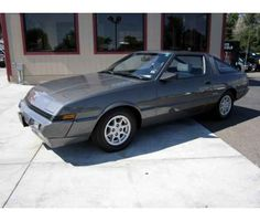 1984 Turbo Mitsubishi Starion, First stick shift car I drove. Turbo kicked in intermittently  for extra boost. Fun old car. Must have been 2002 when I had this, it was a light silver with gold rims.