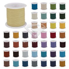 Cheap 2mm wire, Buy Quality cord thread directly from China making leather necklace Suppliers: 10m 1 Roll Leather Finding Cord Thread 2mm Wire Jewelley Making Fit Bracelet Necklace TC0122 52 Color Wholesale
