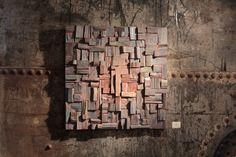 corporate art, wood wall art, wood wall sculpture, wood acoustic panel