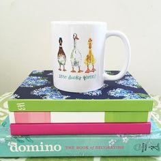 Duck Mug | insta: evelyn_henson | shop: www.evelynhenson.com