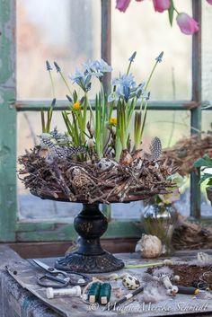 Blomsterverkstad: DIY Påsktårta
