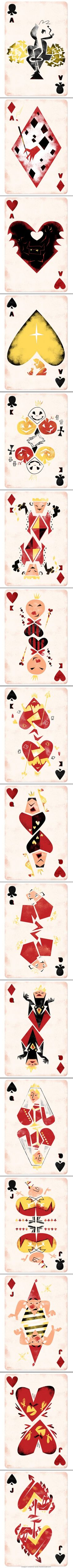 Disney-Inspired Playing Cards