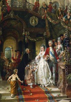 La fiesta de la boda - Carl Herpfer