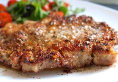Krkovička na minutku. A příloha? Třeba čerstvá bagetka. Autor: Naďa I. (Rebeka) Meatloaf, Lasagna, Main Dishes, Pork, Food And Drink, Ethnic Recipes, Halloween, Google, Roast Beef