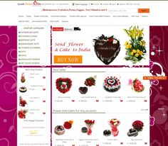 Send Flowers & Cakes In India With Ayushflowergifts!