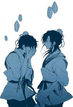 Hakuyuu and Hakuren