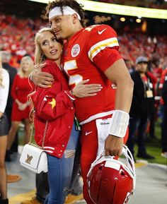 Patrick Mahomes On Instagram Brittanylynne8 Let S Keep Rolling So Glad You Are The Queen O Kansas City Chiefs Football Kc Chiefs Football Chiefs Football