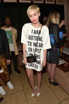 Miley Cyrus attends The Daily Front Row'sFashion Los Angeles Awards show at Sunset Tower on Jan. 22, 2015, in West Hollywood, California.