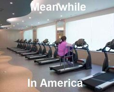 only in america.