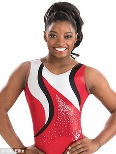 GK Elite is also selling Simone Biles-branded leotards with her signature on them