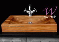 Wooden Bathroom, Wooden Kitchen, Sinks, Home Decor, Beauty, Blue Prints, Wood Bathroom, Timber Kitchen, Decoration Home