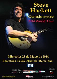 STEVE HACKETT, Barcelona 2014