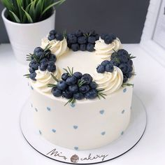 Cake Decorating Designs, Cake Decorating Videos, Cake Decorating Techniques, Cake Designs, Pretty Cakes, Cute Cakes, Yummy Cakes, Food Cakes, Cupcake Cakes