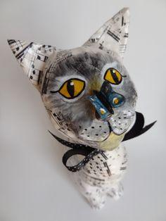 Gato com Borboleta - Cat with Butterfly | Flickr - Photo Sharing!