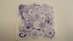 Mehr Doodle als Zentangle...