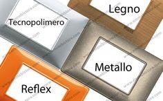 Materiale #Placche #Vimar #Plana #tecnopolimero #legno #metallo #reflex #emmebistore #arredamento #arredare #idee #casa