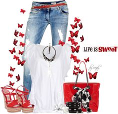 """""""life is sweet"""" by wendyfer on Polyvore"""
