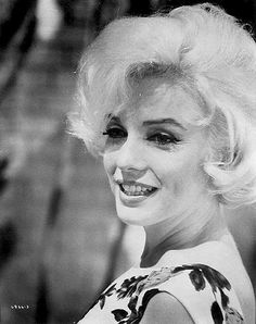 """Marilyn Monroe on the set of """"Something's Got To Give"""" 1962"""