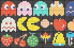 plastic canvas pacman - Bing Images
