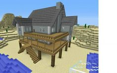 How to make a great house in minecraft awesome beach house creation 921 Minecraft Beach House, Modern Minecraft Houses, Minecraft Houses For Girls, Minecraft Houses Survival, Minecraft Houses Blueprints, Minecraft Architecture, House Blueprints, Minecraft Buildings, Awesome Minecraft Houses