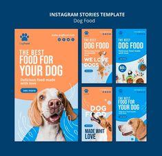 Brochure Food, Brochure Design, Pet Branding, Powerpoint Design Templates, Food Instagram, Web Design, Instagram Story Template, Graphic Design Posters, Social Media Design