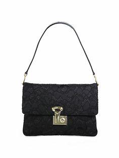 Dolce & Gabbana Miss Linda Petal Lace Shoulder Bag