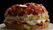 Gluten-Free Strawberry Shortcake made with brown rice flour and supposed to be very good
