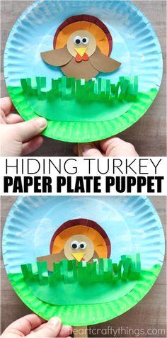 Hiding Turkey Puppet