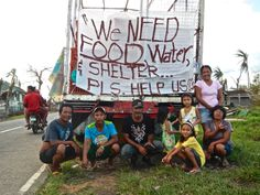 Thousands upon thousands of survivors of Typhoon #Haiyan did not receive adequate food relief or shelter from those who should have provided it. There is a need for greater justice and compassion in our world.