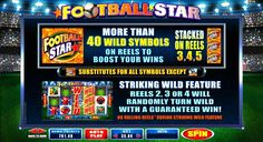 Enjoy online casino football slot game at Wintingo online casino