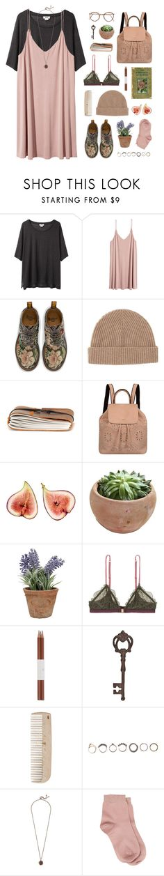 """""""260117"""" by rosemarykate ❤ liked on Polyvore featuring Acne Studios, H&M, Dr. Martens, Toast, Mellow World, Esschert Design, LoveStories, Faber-Castell, True Fabrications and HAY"""