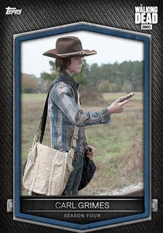 Walking Dead Season, Fear The Walking Dead, Walking Dead Wallpaper, Walking Dead Pictures, Carl Grimes, Tv Series, Cards, Movies, Chandler Riggs