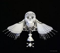 Josh Harker uses 3D printing to create this amazing art. Description from pinterest.com. I searched for this on bing.com/images